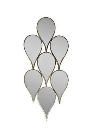 19-OA-5660 Dekoratiivne peegel 100*43*5cm