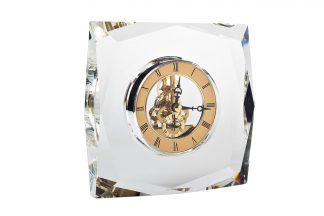 C81315 Klaasist lauakell kuld 14*5*15 cm