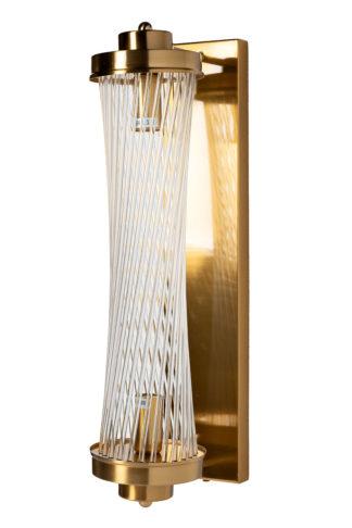 92EL-YG59026 Klaasist seinalamp (messing) 12*...