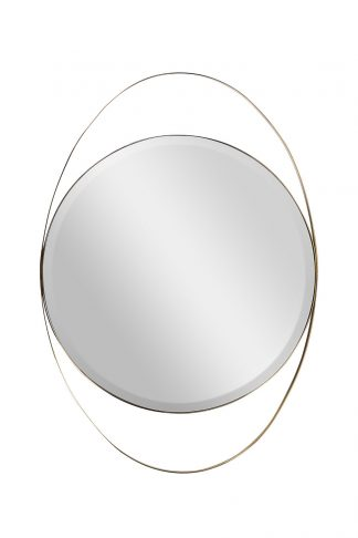KFG098 Peegel metallraamis (kuld) 70*99 cm